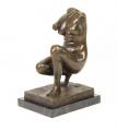 Bronze statuette - Women's torso