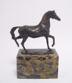 Bronze statue - horse in a motion