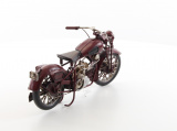 A TIN MODEL OF A MOTORCYCLE RETRO 1