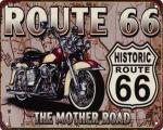 Retro tin sign - HISTORIC ROUTE 66