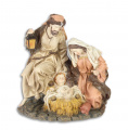 A RESIN NATIVITY GROUP