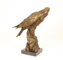 Bronze and marble eagle statue BrokInCZ
