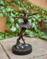 bronze sculpture statue ballerina