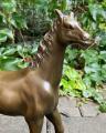 Bronze horse BrokInCZ