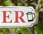 Retro tin sign - BEER