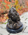 Lion and snake statue BrokInCZ