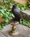 Bronze eagle statue on a pedestal BrokInCZ