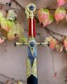 Replica of King Arthur's dagger with scabbard BrokInCZ
