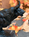 Figurine of a Bull made of bronze