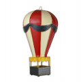 Sheet metal hot air balloon