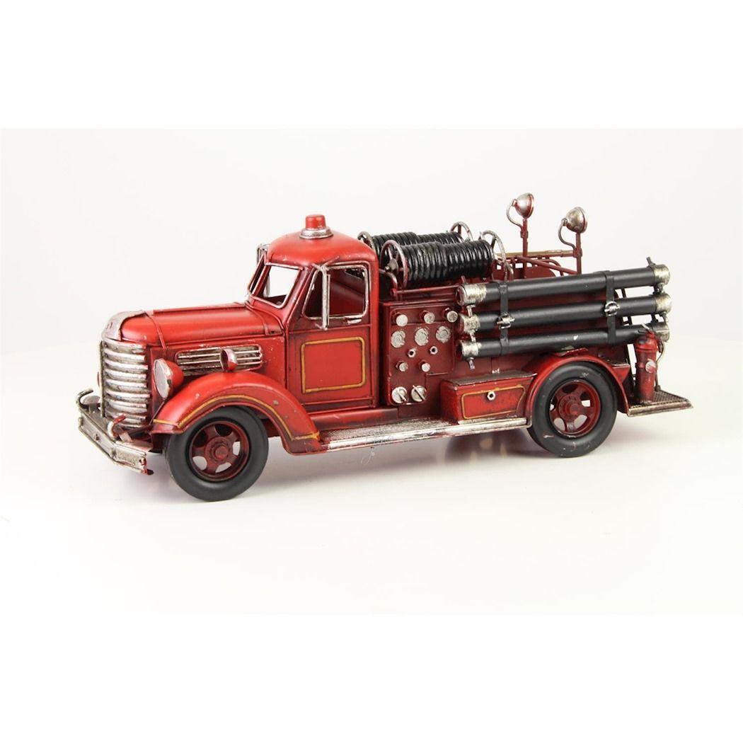 Sheet metal firetruck 2