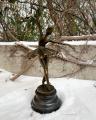 Bronze ballerina figurine 3