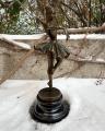 Bronze ballerina figurine 4 bronze statue ballerina dancing