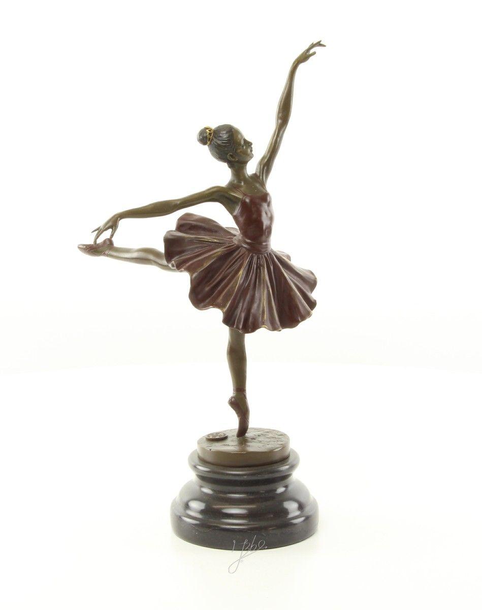Bronze ballerina figurine 5