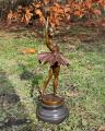 Bronze ballerina figurine 6