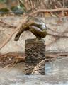 Figurine of man made of bronze