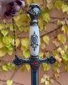 Knights Templar Sword BrokInCZ