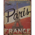 Metal hanging sign - Paris - France