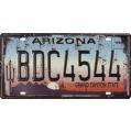 Tin license plate - Arizona