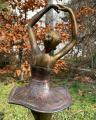 Polyresin statue of a ballerina