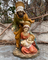 Polyresin statue of the Easter Nativity scene