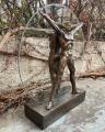 Statue of a Vitruvian Man made of resin Leonardo da Vinci