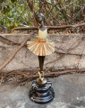 Bronze ballerina figurine 7